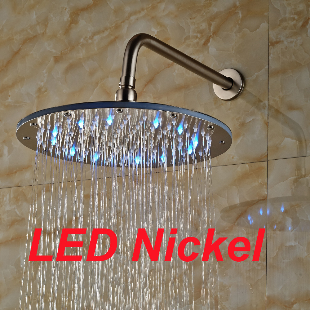 Compare Prices on Led Rain Shower Head Brushed Nickel
