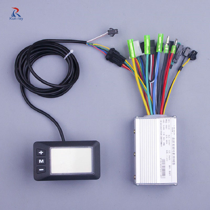 E scooter kit 250W 350w 24V 36V 48V DC Mode Brushless Engine Motor Controller with LCD For Electric Bicycle Tricycle E bike E scooter kit 250W 350w 24V 36V 48V DC Mode Brushless Engine Motor Controller with LCD For Electric Bicycle Tricycle E bike