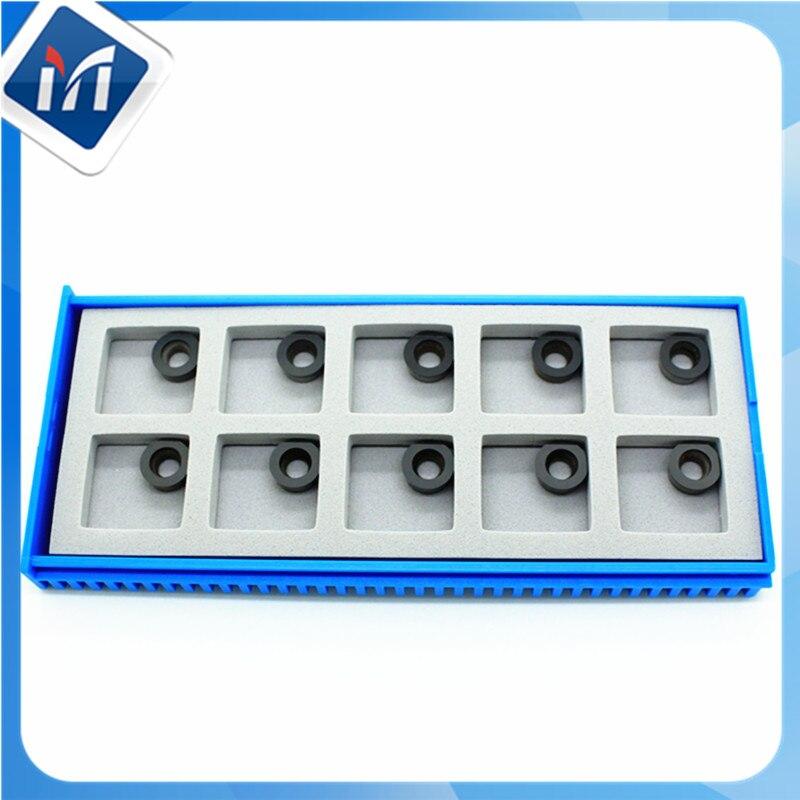 MAXTOOL 10PCs SDR100-031-E1-NWP10 PCD TIP Milling Inserts Polycrystalline Diamond Grade 1500