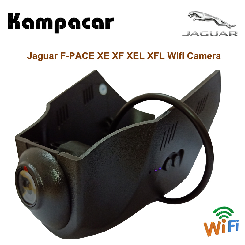 все цены на Kampacar Hidden Wifi Camcorder 2 Video Recorder Camera Car Dvr Dual Dash Cam Two Lens For Land Rover Jaguar F-PACE XE XF XEL XFL онлайн