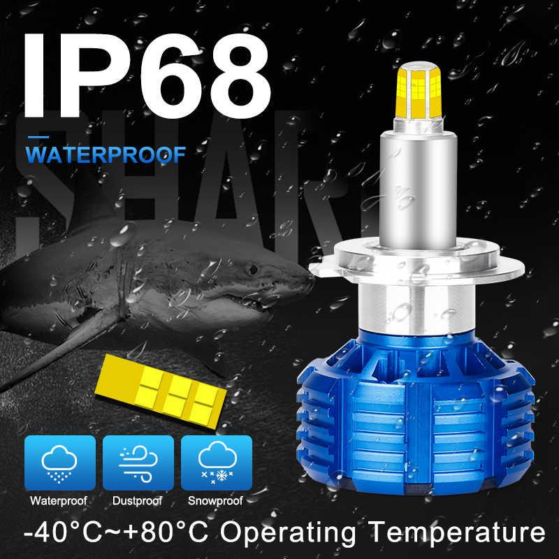 Авто 3D 12 сторонний CSP H11 H7 светодиодный автомобильный светильник s H8 H1 HB3 9005 9006 Противотуманные фары 360 градусов рядом с дальним светильник 12 В диодные лампы для автомобилей HLXG