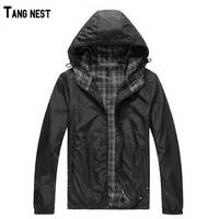 2015 New Hot Sale Man Outdoor Hooded Thin Jakcet Male Hoodie Waterproof Thin Jacket MWJ093