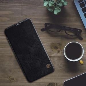 Image 4 - Xiaomi Redmi Hinweis 6 Pro Leder Fall NILLKIN Qin Serie Wallet Flip Abdeckung Fall Für Redmi Hinweis 6 Pro Echtem flip Leder Fall