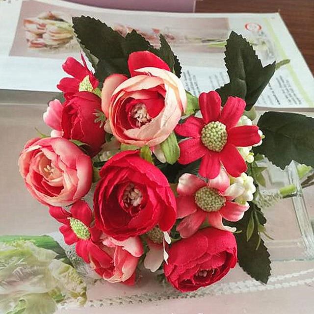 1 Bundle Artificial Flowers Cheap Home Photography Wedding