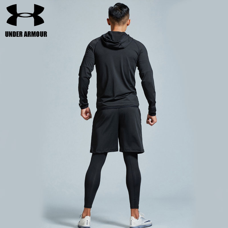 ed5c50bd Under Armour Men Gym clothing hiking training workout clothes 2-5 pieces  quick dry compression exercise jackets high quality