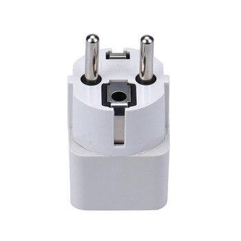 Malloom 2017 Universal China EU Plug Adapter Electrical Plugs for Home Office Travel High quality White International Plug Adaptor