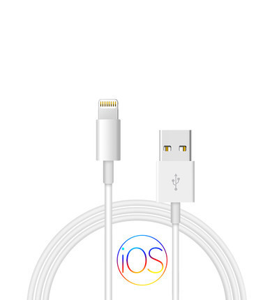 100cm 1 m/3ft Originele relxtank Chip Gegevens Usb-kabel oplader Voor Apple iPhone X XS MAX XR 5 5S SE 6 6S 7 8 Plus ipad mini air 2 1