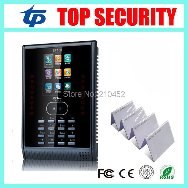 купить ZK face time and attendance system with RFID card reader TCP/IP SSR face time attendance work with or without software онлайн