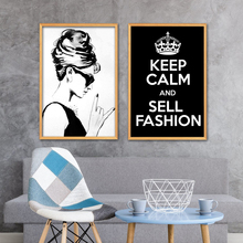 NOOG Fashion Girl Wall Art Poster Pictures Posters And Prints Canvas Painting For Nordic Living Room Decor