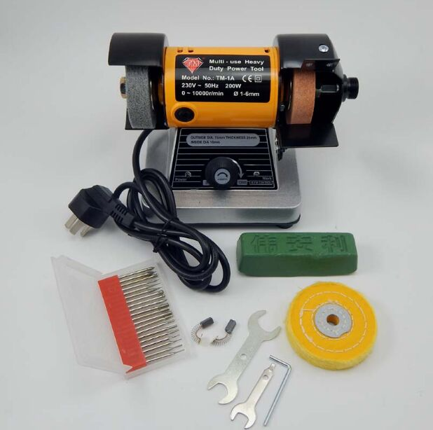 Multi-Grinder Polishing and Buffing Machine Motor with Flex Shaft Attachment and Wheels 1/8 hp bench grinder polishing and buffing machine motor with flex shaft attachment and wheels 1 8 hp
