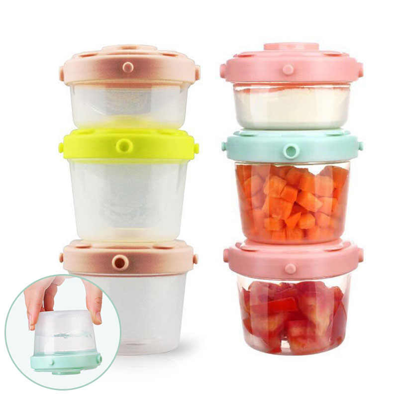 3Pcs/Set Baby Formula Milk Storage Infant Portable Milk Powder Formula Dispenser Food Container Kids Food Storage Snack Box