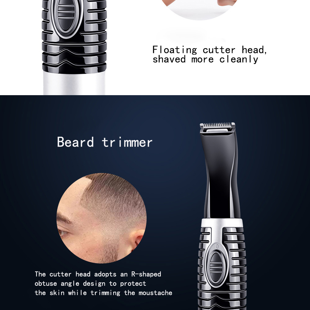 6 In1 Bikini Trimmer Precision Facial Hair Eyebrow Trimmer Lady Nose Ear Shaping Tool Hair Removal Female Shaving Machine (3)
