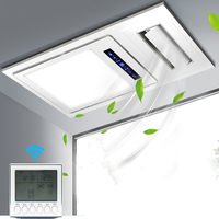 3in1 Ventilation,blowing,lighting Ceiling Fan Ultra Silence for Office Home Kitchen Bedroom Bathroom Ventilation Fan Blowing
