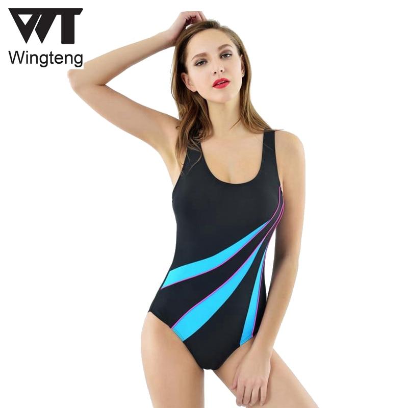 Женский Профессиональный Цельный купальник женский закрытый купальник пуш ап спортивная одежда гоночная соревнования плотный классическ