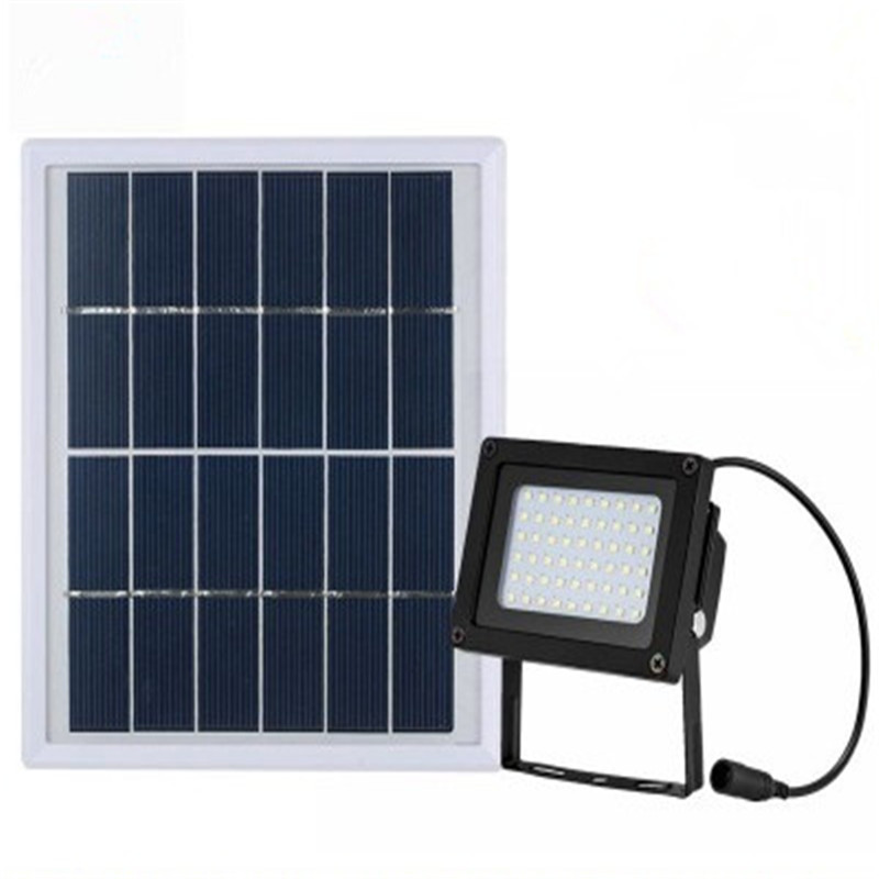 Solar Powered 54 led Floodlight/ Spotlight Outdoor Waterproof Security Led flood light Lamp 400Lumen for Home Garden Lawn Pool