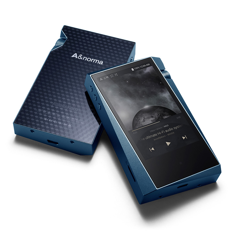 IRIVER & norma SR15 Portable lecteur hifi Haute Résolution Audio Sans Perte musique MP3 spécial Cadeau personnalisé étui en cuir