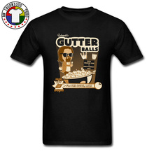Dude Gutter Balls Comic Pure Cotton Top T-shirts Newest Tees New Coming O Neck Big Size T Shirt Custom Personalized Tshirts