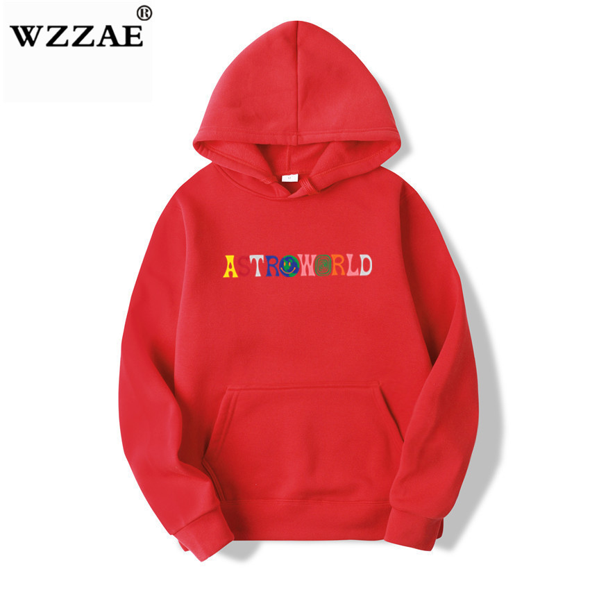 TRAVIS SCOTT ASTROWORLD WISH YOU WERE HERE HOODIES fashion letter ASTROWORLD HOODIE streetwear Man woman Pullover Sweatshirt 16