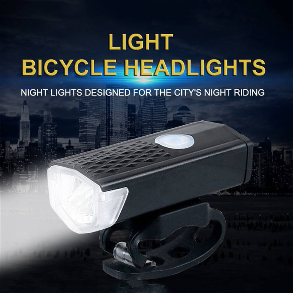 Bike Headlight Waterproof Rechargeable USB