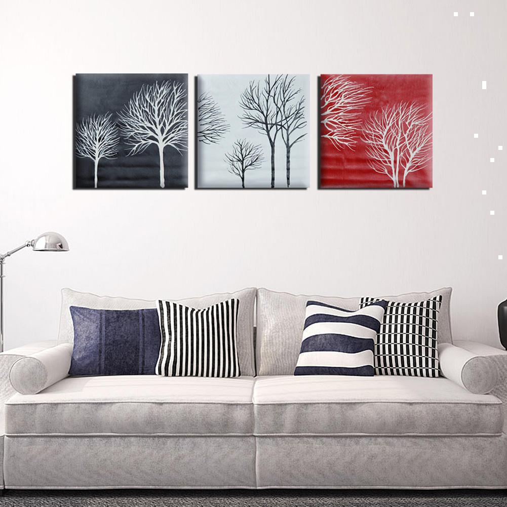 Buy 2017 3pcs Set Black White Red Tree