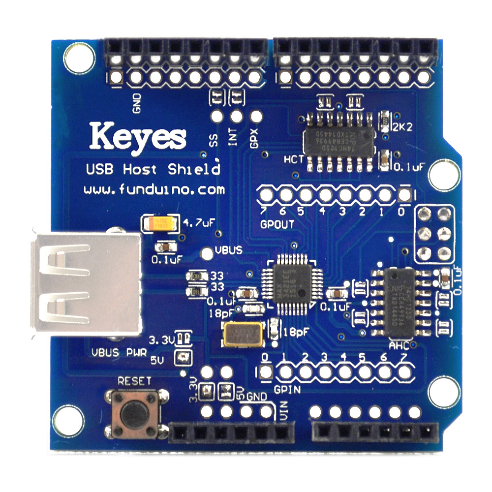 KEYES USB host shield compatible with Google Android ADK /support UNO