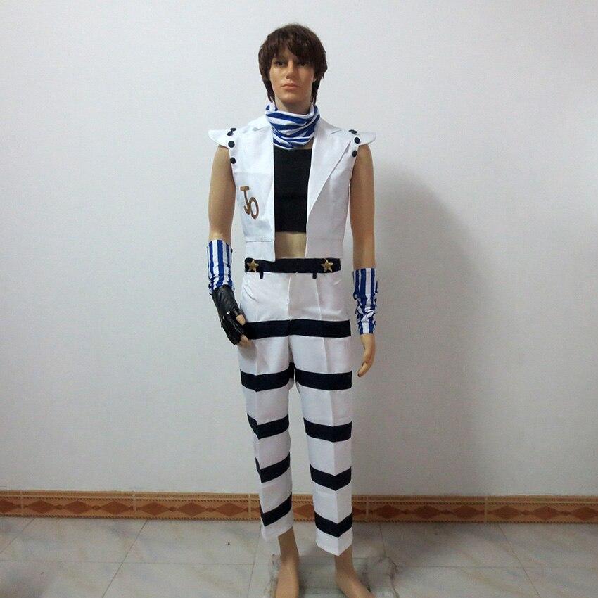 JoJo's Bizarre Adventure Cosplay Caesar Anthonio Zeppeli Cosplay Costume Custom Made Any Size