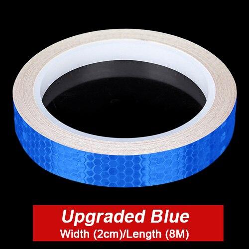 Blue Stickers 2cm