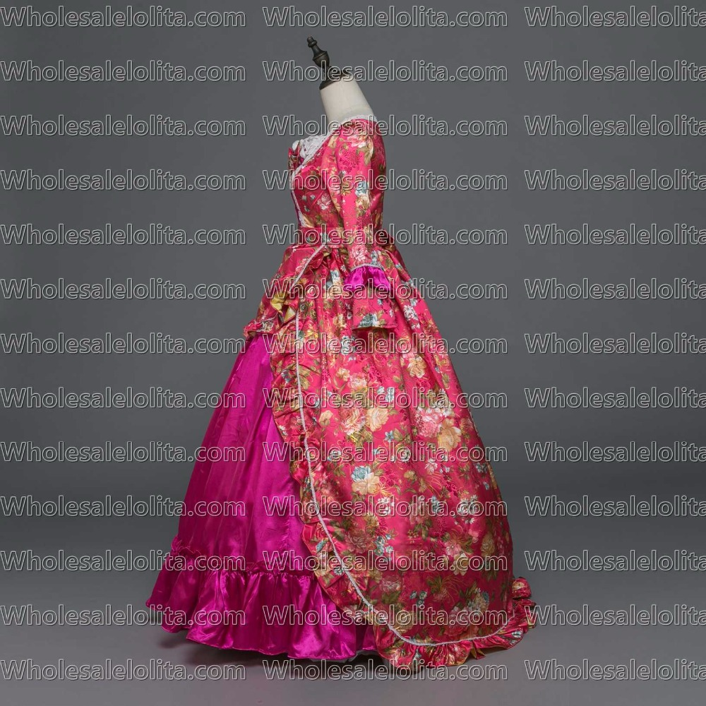New Holiday Marie Antoinette Dress Gothic Period Medieval Clothin Princess Alice in Wonderland Ball Gown Dress Theater Hallowe