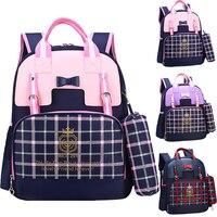 Orthopedic Children School Bag for 6 12 years old Girls Waterproof Cute Princess Student Bookbag Backpack Kids Schoolbag Escolar