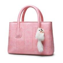 Designer Simple Women Retro font b Handbag b font Fashion Plaid Sweet Style Shoulder Bag Ladies