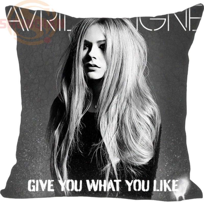 Avril Lavigne #60 Pillowcase Wedding Decorative Pillow Case Customize Gift For Pillow Cover 20x20,35X35cm One sides image