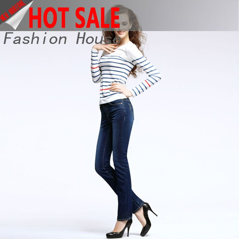 womens new enzyme wash jeans