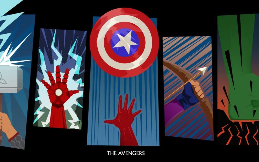 Free shipping,Avengers Marvel Superhero logo,Poster HD ...