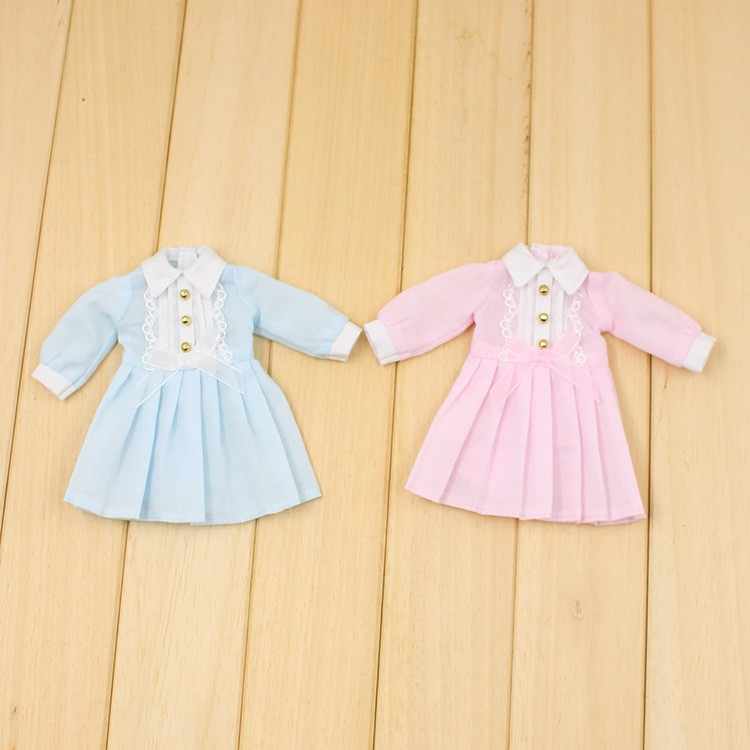 Neo Blythe Doll Autumn Dress with Long Sleeves 1