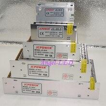 New DC5V 2A/3A/4A/5A/6A/8A/10A/12A/20A/30A/40A/60A SwitchLED Power Supply Transformers For WS2812B WS2801 APA102 8806 LED Strip