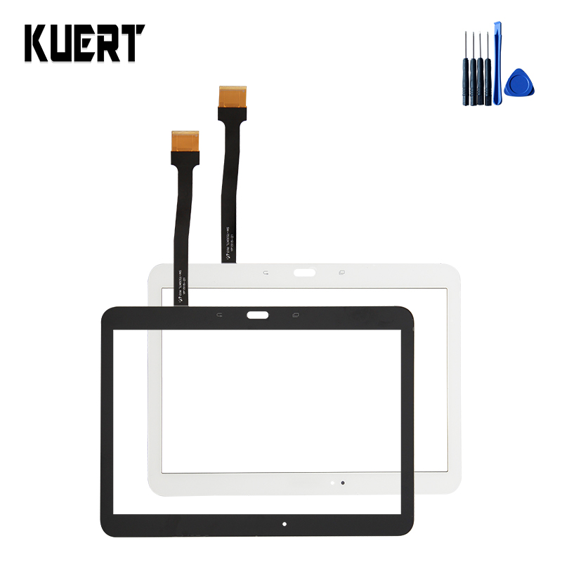 100% Test Tablet Touch Screen Panel Digitizer Glass For Samsung Galaxy Tab 4 10.1 SM-T530 Replacement Accessories Parts +Tools