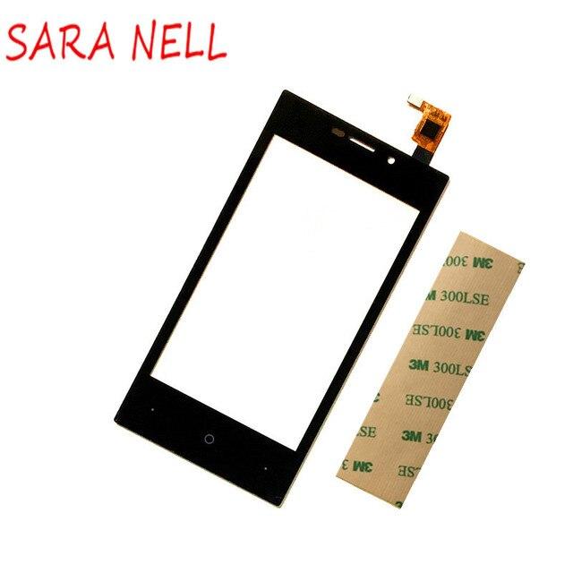SARA NELL сенсорный экран дигитайзер для высокого экрана Zera F rev. S аксессуары Запчасти передний Внешний сенсорный экран стеклянная сенсорная панель