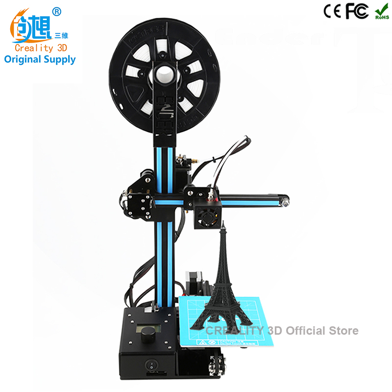 CREALITY 3D Cheap 3D Printers Ender 2 Desktop Rapid Prototype FDM 3D Printer Easy Assembly OEM