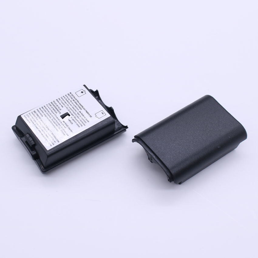 [50PC/ LOT] High Quality Battery Pack Cover Shell Shield Case Kit for Xbox 360 Wireless Controller Repair Part