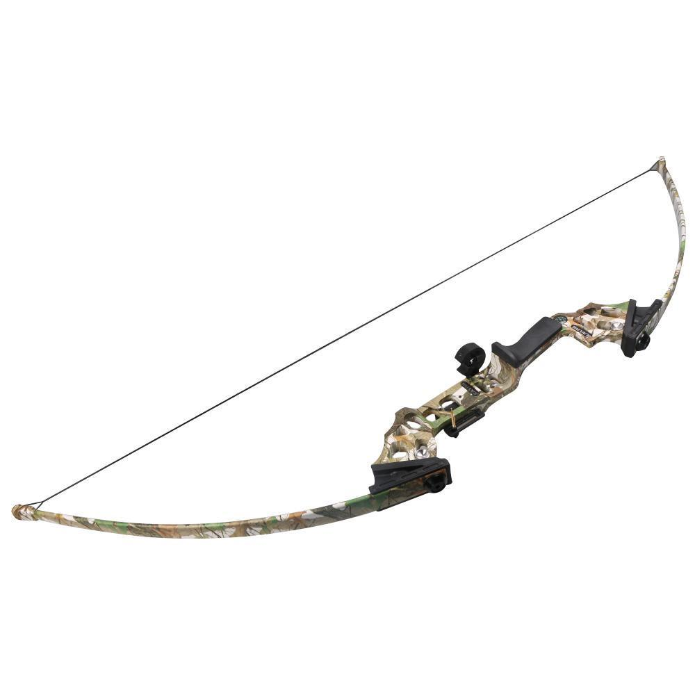 40lbs Take Down  Bow Alloy Riser Archery  Hunting Straight Long Bow Outdoor Shooting Fish Fishing Bow