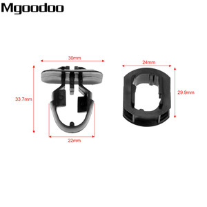 Image 2 - Mgoodoo 10set Auto Car Side Skrit Trim Clips Side Trim Fender Retainer Clips Accessories For Mercedes Benz C/E/CLK class
