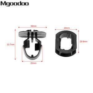 Image 2 - Mgoodoo croquis latéral de voiture, 10 ensembles, Clips pour Mercedes Benz classe C/E/CLK agrafe de garniture, garniture latérale, garde boue, accessoires
