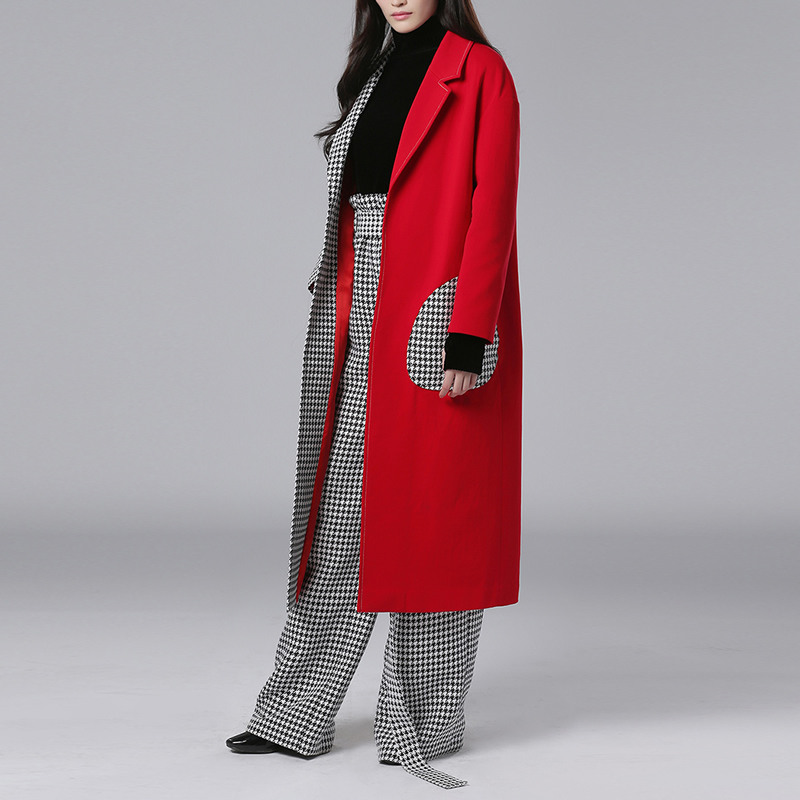 Online Get Cheap Ladies Long Red Coat -Aliexpress.com | Alibaba Group