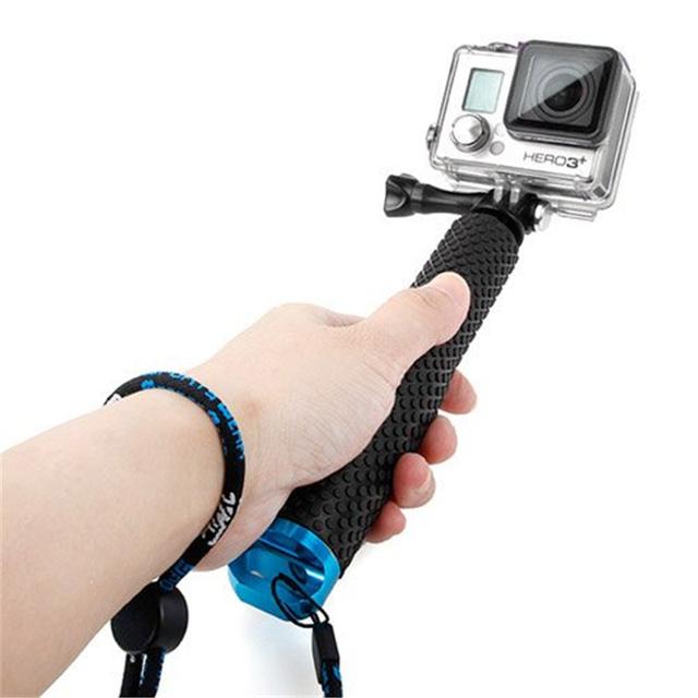 Portable Gopro Selfie Stick Extendable Monopod for Go Pro Hero 4 3 HERO5 Session Xiaomi Yi 4K SJCAM SJ4000 Sj5000 Sj7000 Eken H9