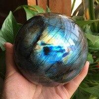10mm Natural feldspar ball blue moonstone natural feldspar