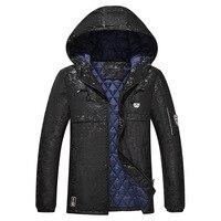 Plus size 6XL 7XL 8XL 9XL Thick Camouflage Men Parka Jacket Men Winter Jacket Male Cotton Parka Warm Windbreak Baggy Coat