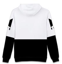 BTS Black&White Hoodie