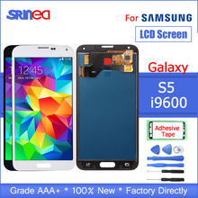 AAAA 100% Tested LCD Replacement For Samsung Galaxy S5 i9600 G900 G900F G900A LCDs Display with Touch Screen Digitizer Assembly цена в Москве и Питере