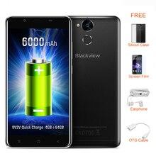 Blackview P2 Smartphone 5.5 pulgadas FHD Pantalla 4 GB RAM 64 GB ROM Android 7.0 Desbloquear MTK6750T 8 Core 1.5 GHz Dual SIM 13MP 4G OTG FM