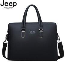 JEEP BULUO Famous Brand Shoulder Messenger Bags Causal Handbag Fashion Men Leather Bag  Travel Laptop 1826-2
